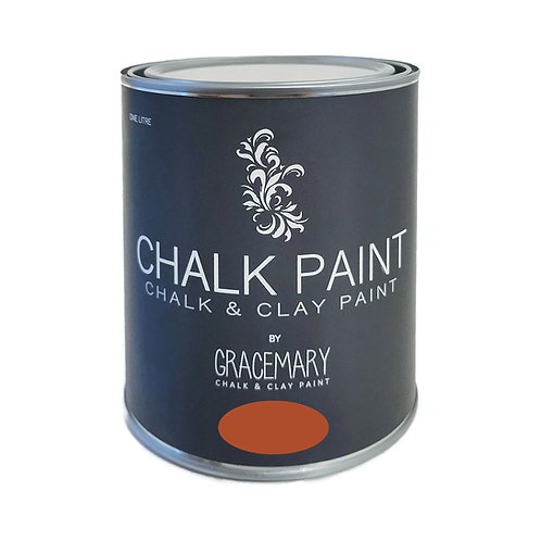 GraceMary Chalk and Clay Paint - Ruggine
