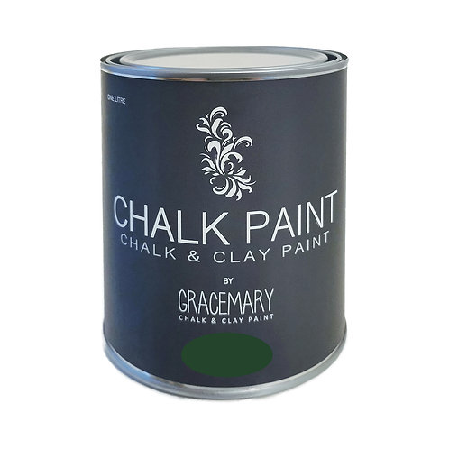 GraceMary Chalk and Clay Paint - Budapest Green