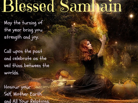 Samhain blessings from the  Lighthouse