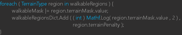 Grid::Awake caches penalty values for each designated collision layer.