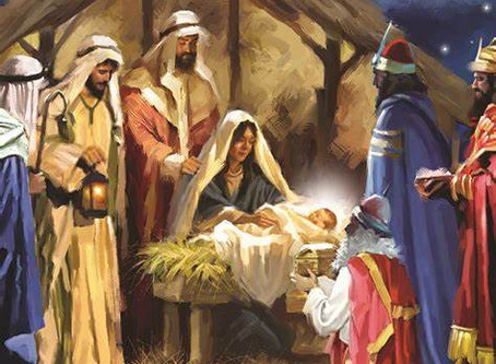 As we celebrate the day Christ was born...