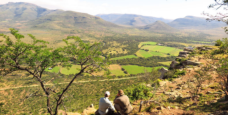 Hunting in africa location
