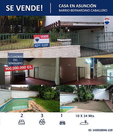 Casa Barrio Bernardino Caballero Seminar
