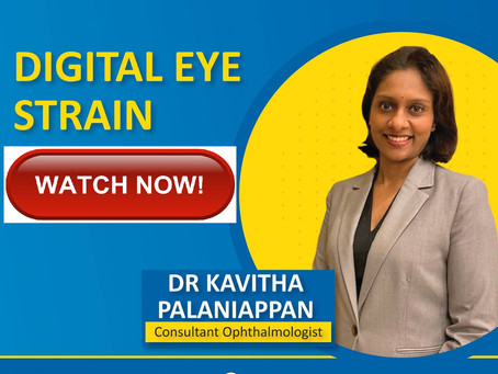 Do you know you could be suffering from Digital Eye Strain?
