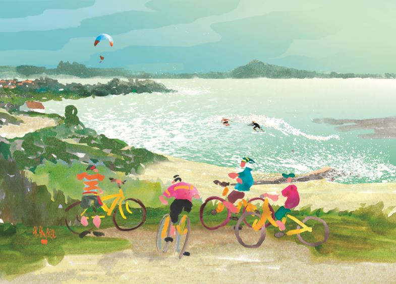 7 carte postale cambier basque landes ar