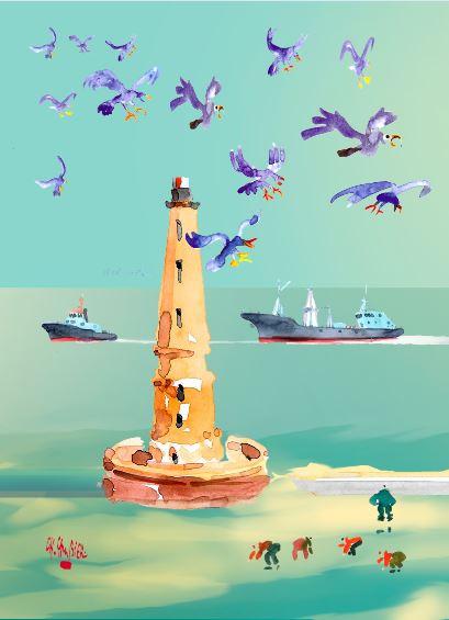 10 carte postale cambier basque landes a