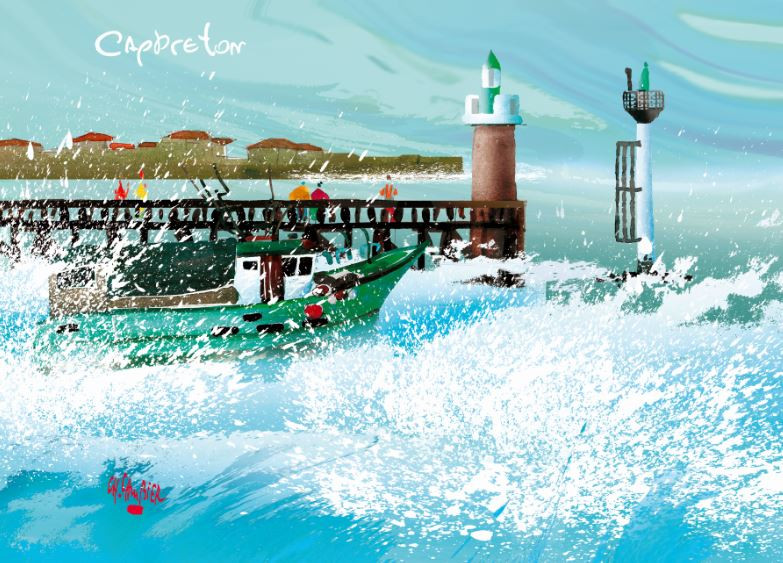 9 carte postale cambier cap breton.JPG