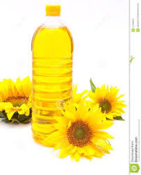 sunflower oil, a non volatile oil  used for frying and also for cosmetic formulations