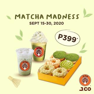 JCO Matcha Madness