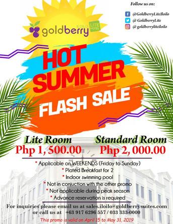 Hot Summer Flash Sale