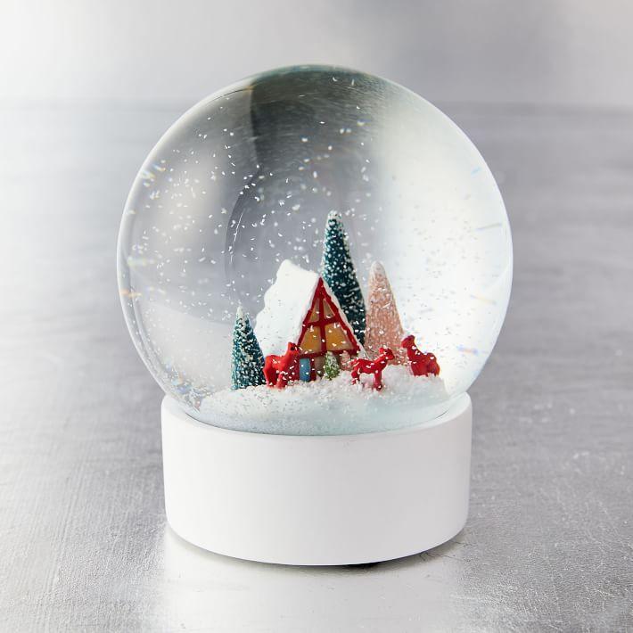 Vintage Snow Globe West Elm