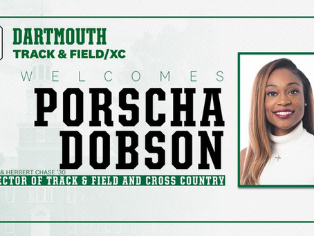 Porscha Dobson Named New Director of Track & Field and Cross Country