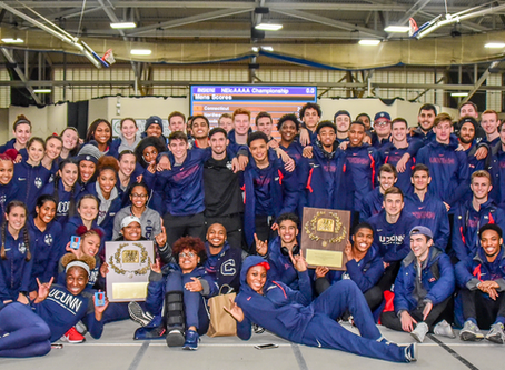 UConn Men, Women Capture Indoor Championship