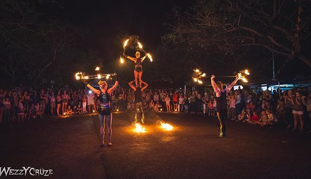 The Meraki Fire performers dazzling the