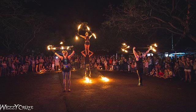 The Meraki Fire performers dazzling the