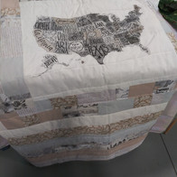 Twin USA QUilt