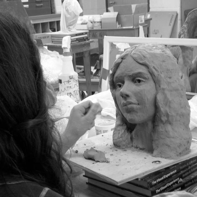 Life Size Portrait Mask