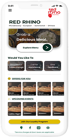Branded Website Landing Page