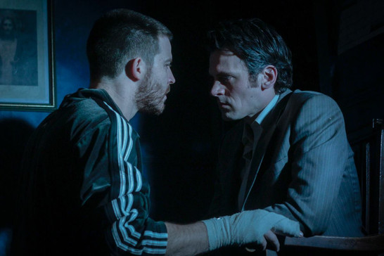 Nick Cain as Laurence in 'Shining City' @ Q44 Theatre.