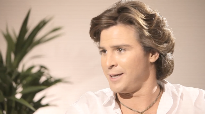 Nick Cain as Andy Gibb in 'Andy Gibb'