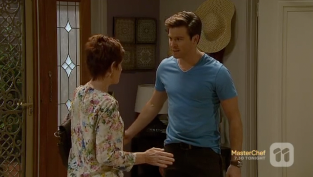 Nick Cain as Alistair Hall in 'Neighbours'