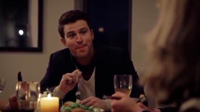 Nick Cain in Sportsbet's 'Footy Player Comes to Dinner'