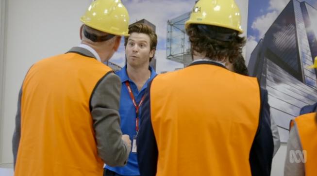 Nick Cain as Terry in 'Utopia: Season 2'
