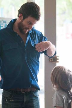 Nick Cain as Luke Ryan in 'Before I Go'
