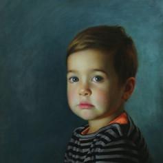 Bruno portrait commission a portrait artist Australia