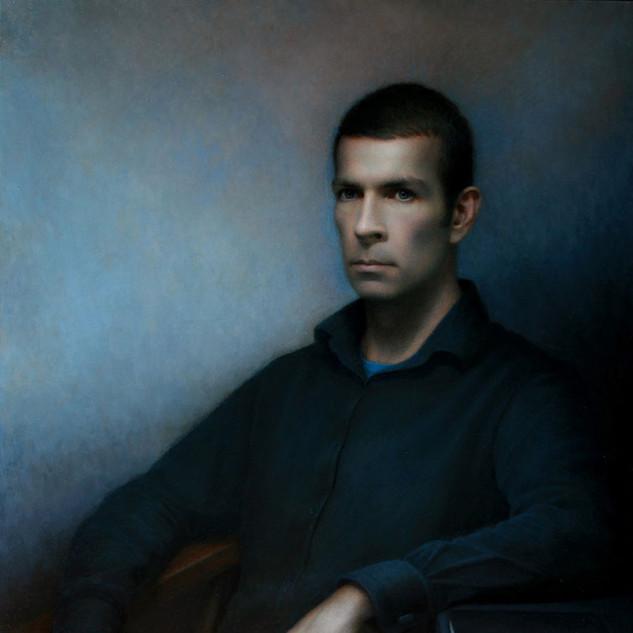 Self Portrait, commission a portrait artist to create a contemporary portrait painting