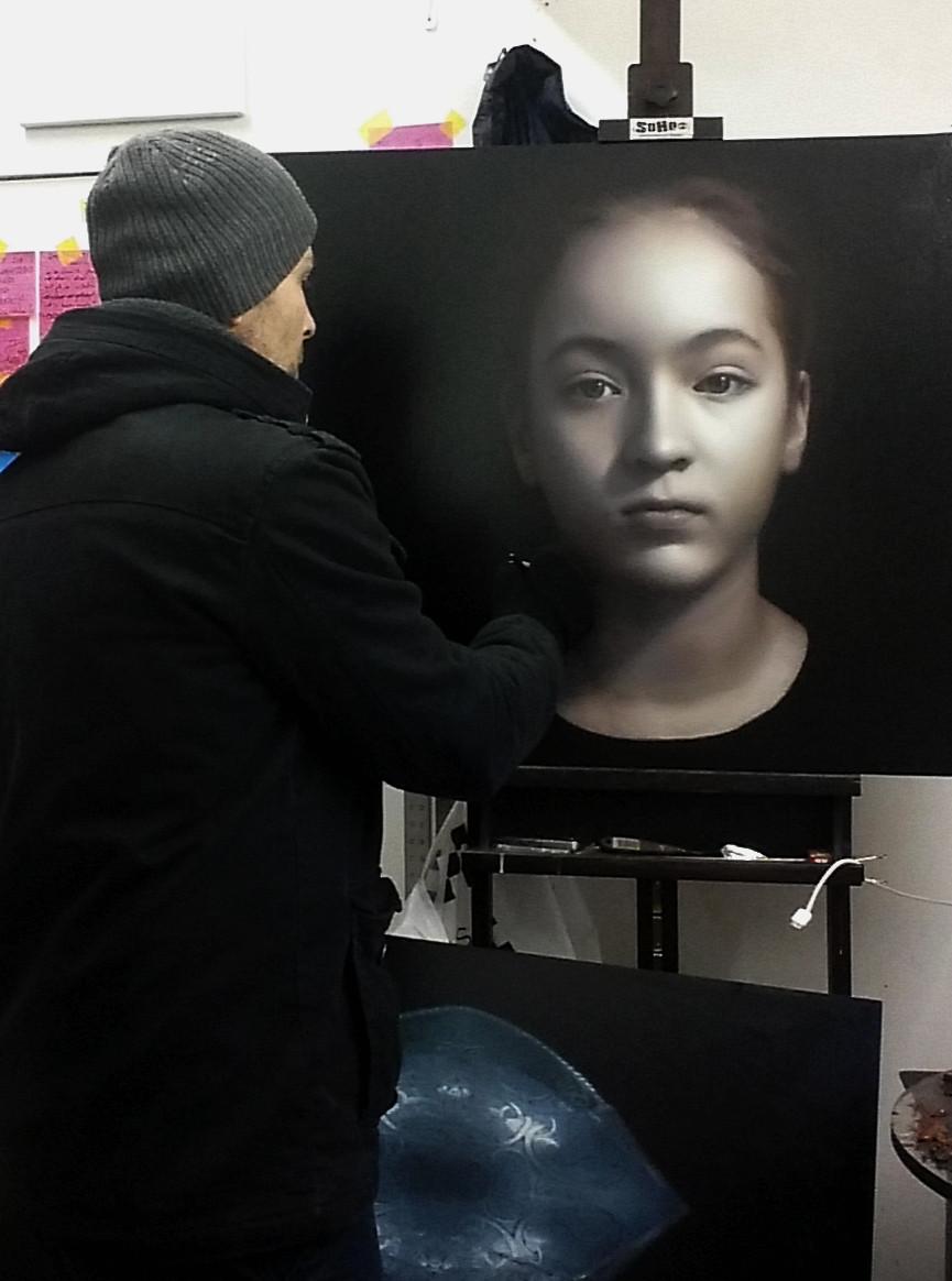 Awarded Contemporary Portrait Artist | Marcus Callum | Portrait Commissions | Australia