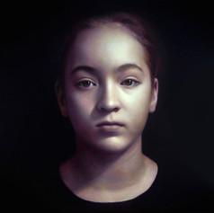 Meg portrait commission a portrait artist Australia