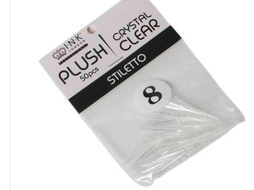 Plush Tips – Stiletto – Refill Size 8