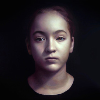 Meg, commission a portrait artist to create a contemporary portrait painting