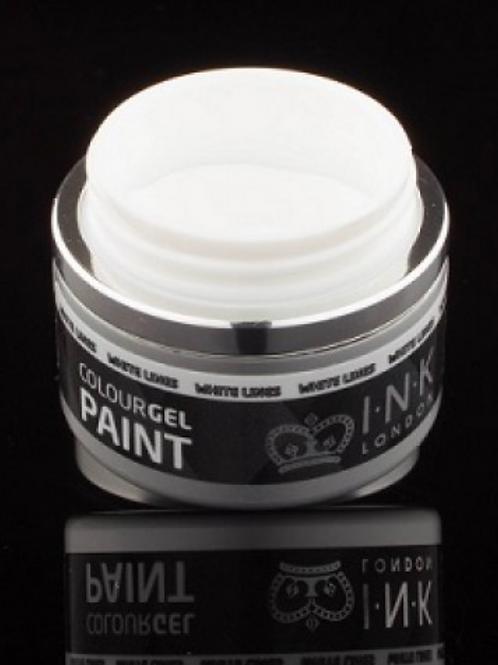Paintgel - White Lines 8ml (met kleeflaag)