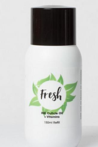 Cuticle Oil + Vitamins - Fresh - Refill 150ml