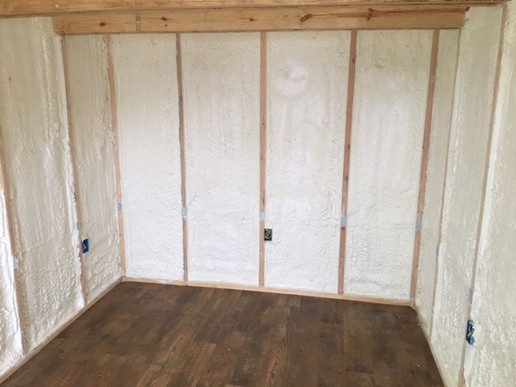 Closed Cell Foam Walls