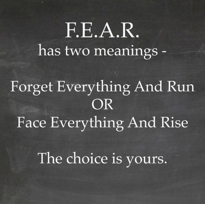 Fear: A Third Option