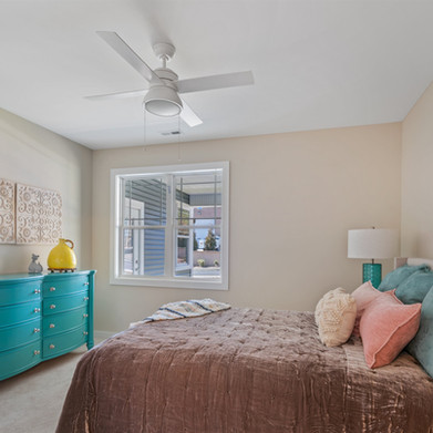 Beautiful Master Bedroom has attached Bathroom and Walk-in Closet
