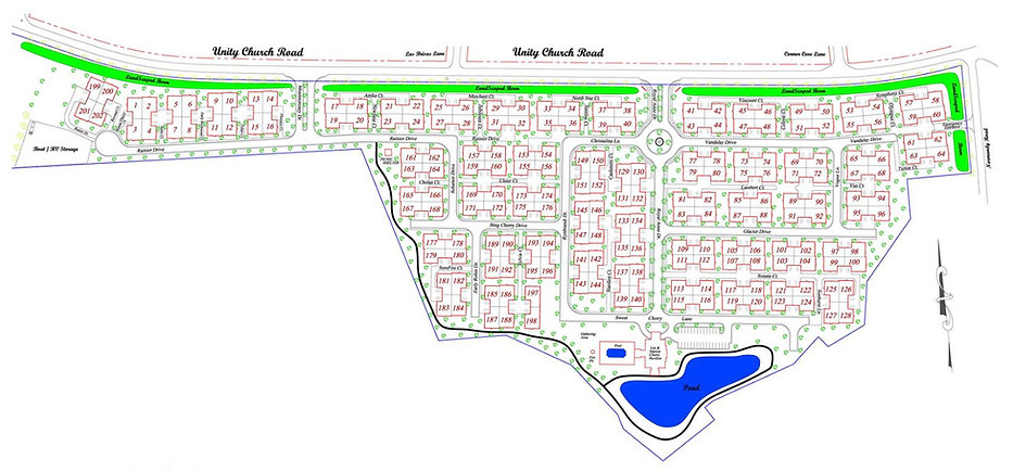 Site Map of 3 Cherry Way
