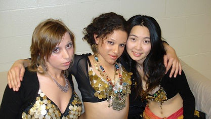 Tribal Bellydance students