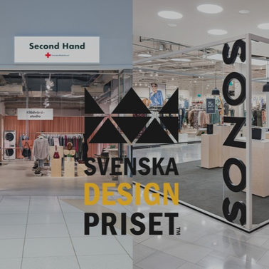 WORKSHOP WITH TWO NOMINATIONS IN THE SWEDISH DESIGN AWARD