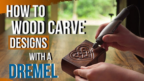 How to Wood Carve Designs With a Dremel Tool
