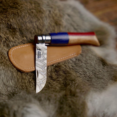 Custom American Flag Opinel no8 Knife
