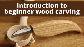 An Introduction to Traditional Wood Carving with BeaverCraft Tools