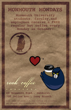 Rook Coffee Promotional Poster