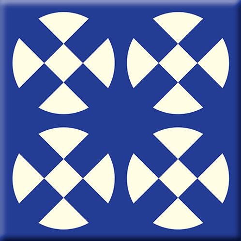 Hot Plates - Blue (Single Tile)