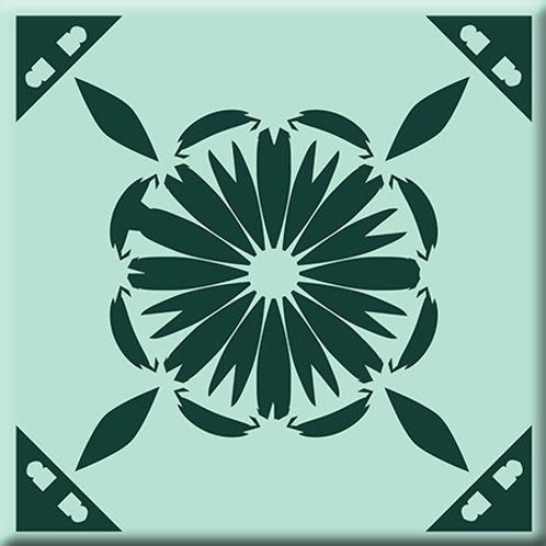 Gram's Kitchen - Green (Single Tile)