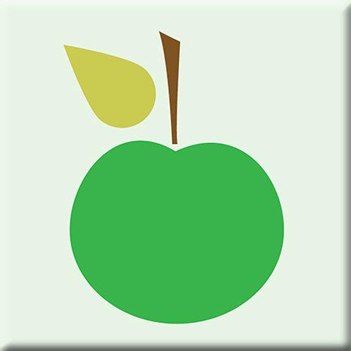 Delicious - Light Green / Green (Single Tile)