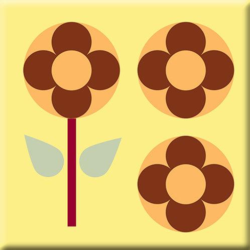 Garden Pop - Yellow (Single Tile)